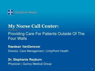 My Nurse Call Center:
