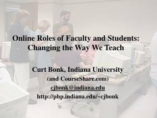 Online Roles of Faculty and Students: