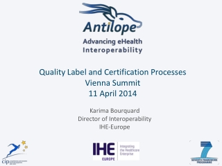 EHR Certification in Europe: steps towards harmonisation and interoperability