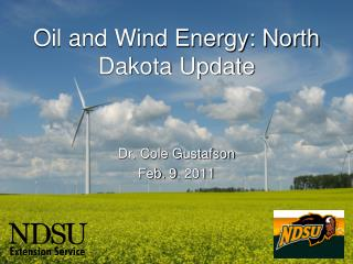 Oil and Wind Energy: North Dakota Update