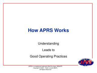 How APRS Works