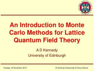An Introduction to Monte Carlo Methods for Lattice Quantum Field Theory