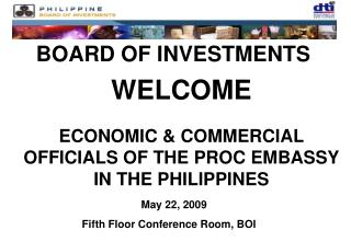 BOARD OF INVESTMENTS