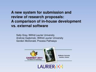 A new system for submission and review of research proposals:
