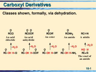 Carboxyl Derivatives