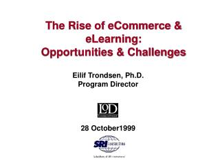 The Rise of eCommerce & eLearning: Opportunities & Challenges