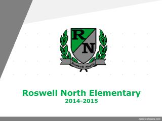 Roswell North Elementary  2014-2015