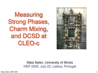 Measuring  Strong Phases, Charm Mixing, and DCSD at CLEO-c