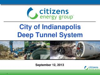 City of Indianapolis                                 Deep Tunnel System
