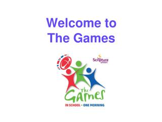Welcome to  The Games