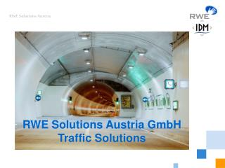 RWE Solutions Austria GmbH Traffic Solutions