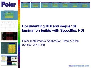 Documenting HDI and sequential lamination builds with Speedflex HDI