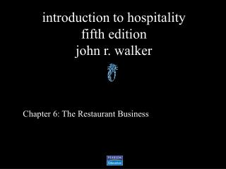 Chapter 6: The Restaurant Business