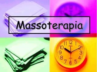 Massoterapia