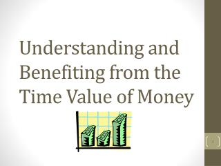Understanding and Benefiting from the  Time Value of Money