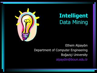 Intelligent Data Mining