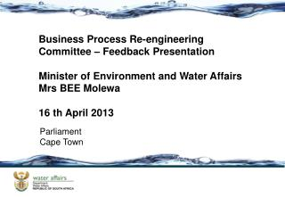 Business Process Re-engineering Committee – Feedback Presentation