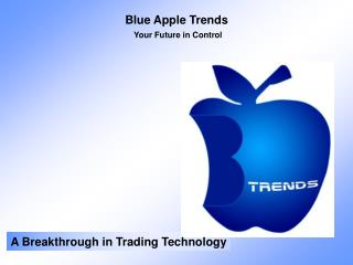 Blue Apple Trends Your Future in Control