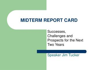 MIDTERM REPORT CARD