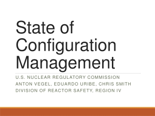REACTOR SAFETY
