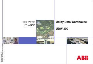 Utility Data Warehouse UDW 200