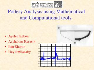 Pottery Analysis using Mathematical and Computational tools