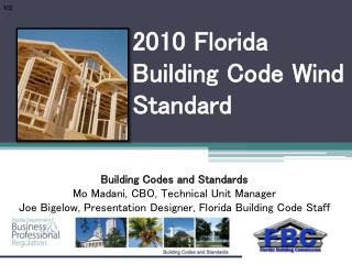 2010 Florida Building Code Wind Standard