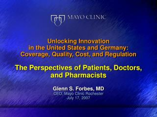 Unlocking Innovation in the United States and Germany: Coverage, Quality, Cost, and Regulation