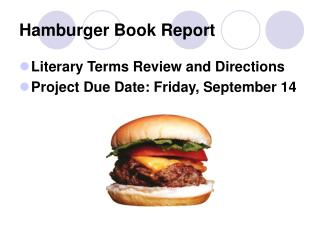 Hamburger Book Report