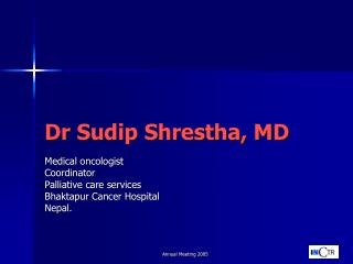 Dr Sudip Shrestha, MD
