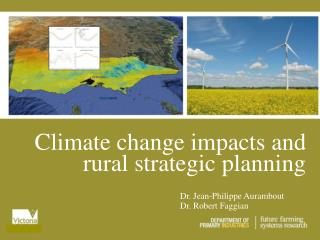 Climate change impacts and
