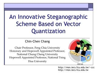 An Innovative Steganographic Scheme Based on Vector Quantization