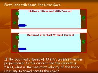 First, let's talk about The River Boat…