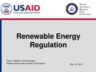 Renewable Energy Regulation