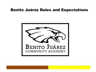 Benito Juárez Rules and Expectations