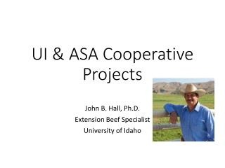 UI  & ASA  Cooperative Projects