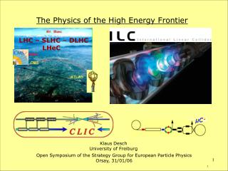 The Physics of the High Energy Frontier