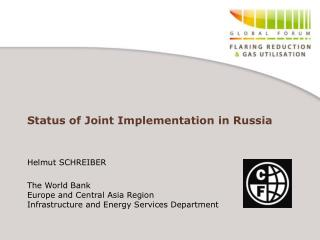 Status of Joint Implementation in Russia