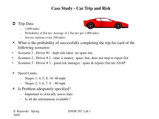 Case Study - Car Trip and Risk