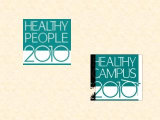 What are Healthy People 2010 and Healthy Campus 2010: Making It Happen?