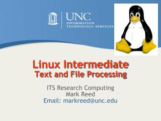 Linux Intermediate Text and File Processing