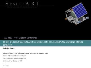 ORBIT DETERMINATION AND CONTROL FOR THE EUROPEAN STUDENT MOON ORBITER