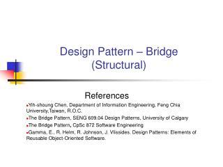 Design Pattern – Bridge (Structural)