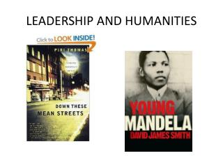 LEADERSHIP AND HUMANITIES