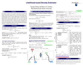 Likelihood-tuned Density Estimator