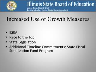 Increased Use of Growth Measures