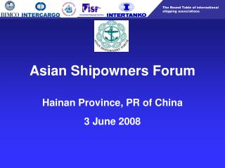 Asian Shipowners Forum