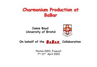 Charmonium Production at BaBar