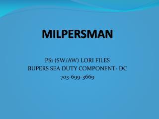 MILPERSMAN