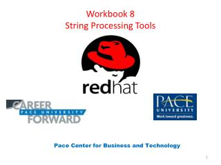 Workbook 8 String Processing Tools